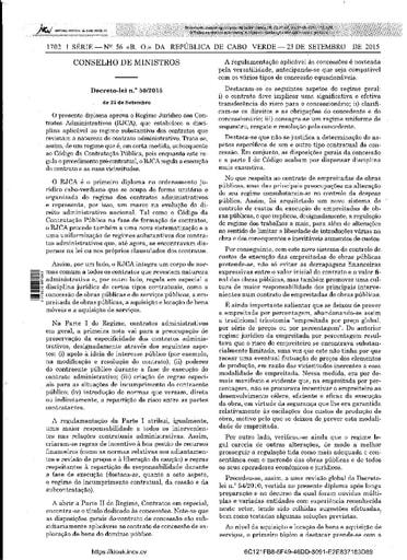 ARAP Regime Juridico dos Contratos Administrativos RJCA